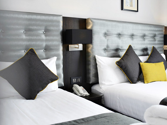 Triple rooms at The 29 London (fka Airways Hotel) are the ideal choice for groups of friends or families