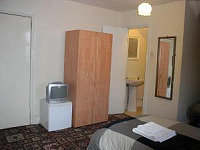 An ensuite triple room at the Amhurst Hotel