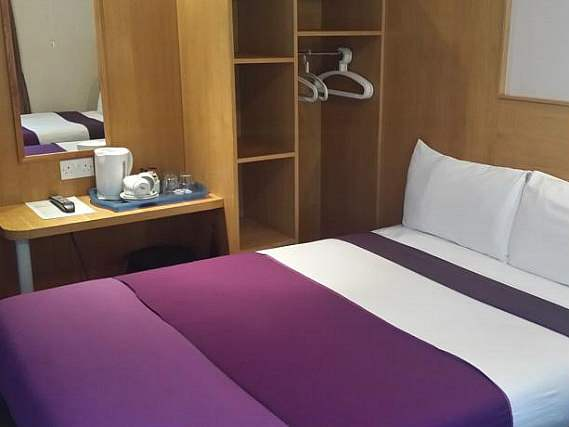 A typical room at Arriva Hotel