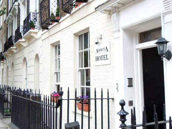 Arriva Hotel is situated in a prime location in Kings Cross close to London Canal Museum