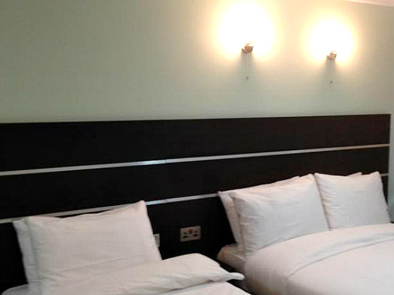 Triple rooms at Epsilon Hotel London are the ideal choice for groups of friends or families