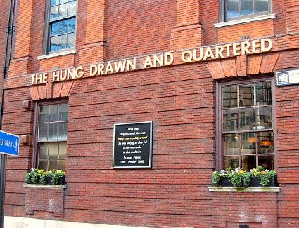 Hung Drawn and Quartered, London