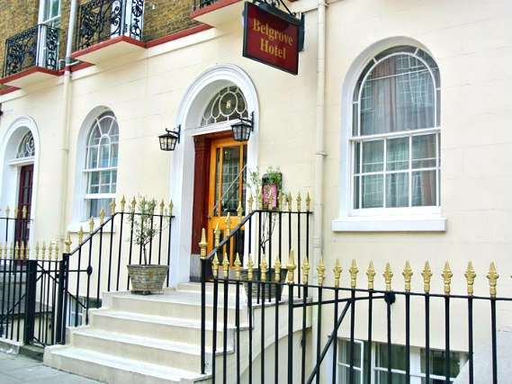 Belgrove Hotel is situated in a prime location in Kings Cross close to Kings Cross Station