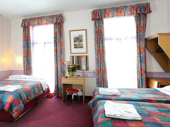Quad rooms at Marble Arch Inn are the ideal choice for groups of friends or families