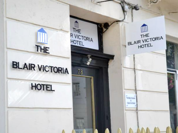 An exterior view of Blair Victoria Hotel