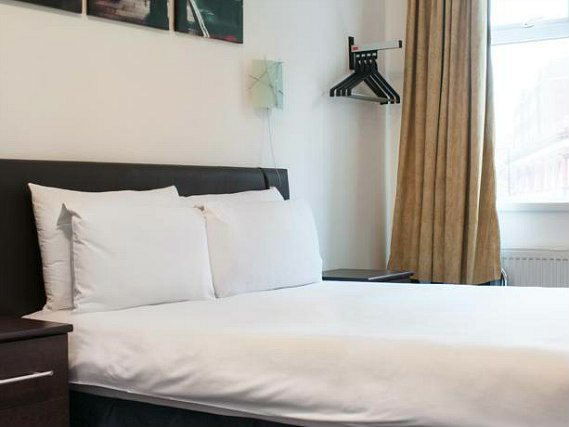Relax and unwind in your private double room at Camden Lock Hotel