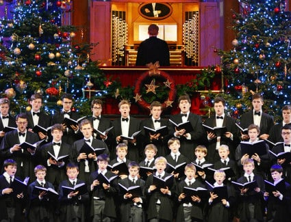 Kings College Choir at Royal Albert Hall, London