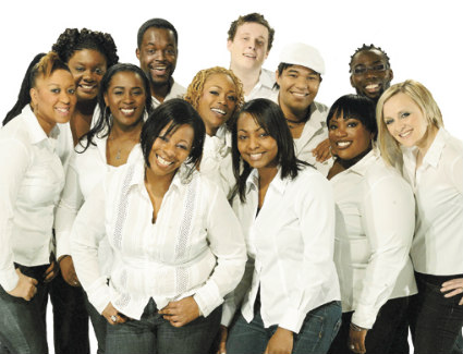 London Community Gospel Choir at Jazz Cafe, London