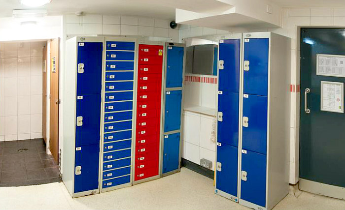 Locker at Journeys Kings Cross