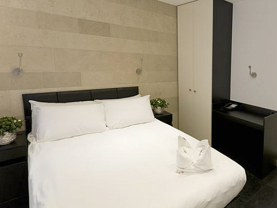 A double room at The Royal Hyde Park Hotel is perfect for a couple