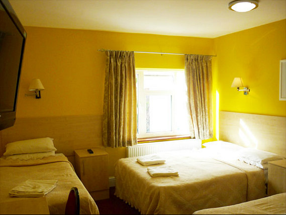 Family rooms at the The Acton Town Hotel are great value for money allowing you to spend more exploring London