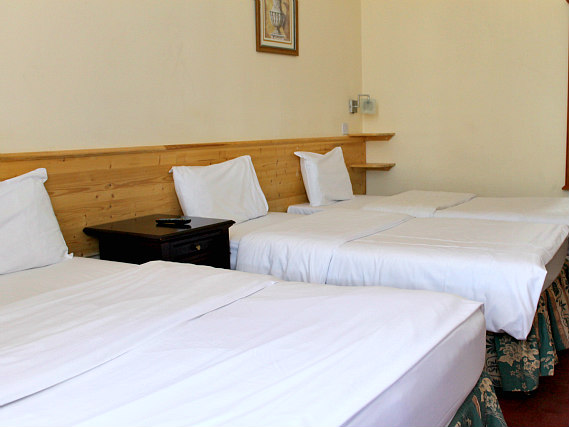 Quad rooms at The Bridge Park Hotel are the ideal choice for groups of friends or families