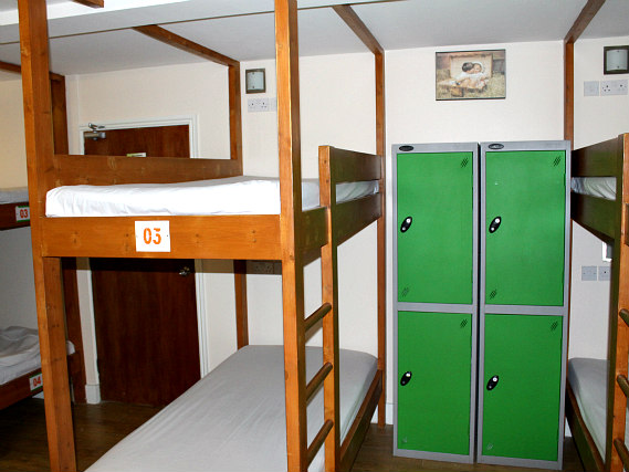 Save money by booking a bed in a shared dorm room