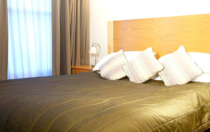 A double room at Cleveland Hotel London