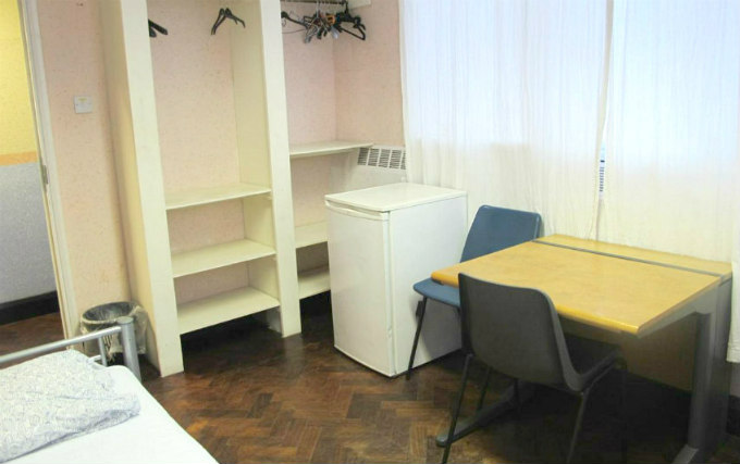 Single Room at Northfields Hostel London