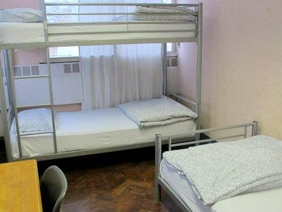 A typical room at Northfields Hostel London