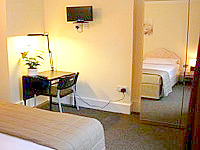 All rooms are tastefully furnished at the Redland House Hotel London