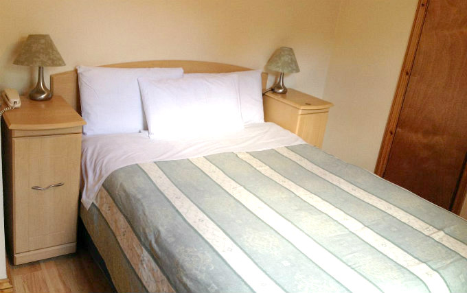 A typical double room at Seven Dials Hotel