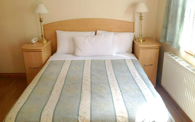 A comfortable double room at Seven Dials Hotel