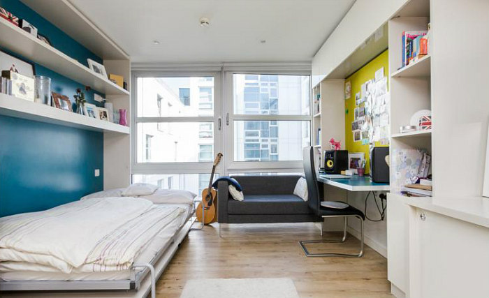 A typical room at Student Haus Bethnal Green