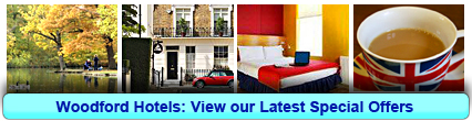 Hotels in Woodford: Book from only £13.00 per person!