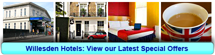 Willesden Hotels: Book from only £14.75 per person!