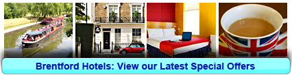 Brentford Hotels: Book from only £17.75 per person!