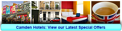 Camden Hotels: Book from only £19.80 per person!