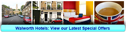 Walworth Hotels: Book from only £15.00 per person!