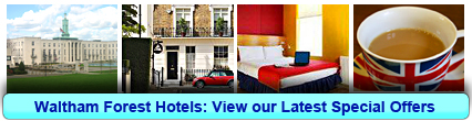 Walthamstow Hotels: Book from only £13.75 per person!