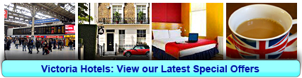 Victoria Hotels: Book from only £13.06 per person!