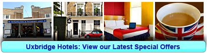 Uxbridge Hotels: Book from only £11.67 per person!