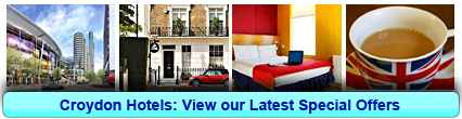 Croydon Hotels: Book from only £15.44 per person!