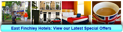 East Finchley Hotels: Book from only £20.00 per person!