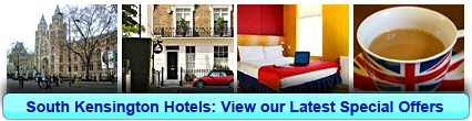 South Kensington Hotels: Book from only £9.64 per person!