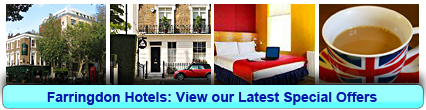 Farringdon Hotels: Book from only £15.00 per person!