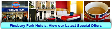 Finsbury Park Hotels: Book from only £20.00 per person!