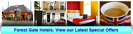 Forest Gate Hotels: Book from only £13.75 per person!