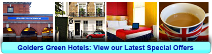 Golders Green Hotels: Book from only £20.03 per person!