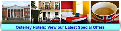 Osterley Hotels: Book from only £14.33 per person!