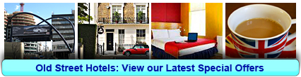 Old Street Hotels: Book from only £15.75 per person!