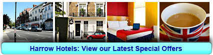 Harrow Hotels: Book from only £12.67 per person!