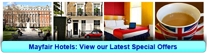 Mayfair Hotels: Book from only £12.50 per person!