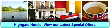 Highgate Hotels: Book from only £20.00 per person!