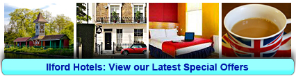 Ilford Hotels: Book from only £12.00 per person!