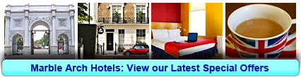 Marble Arch Hotels: Book from only £17.50 per person!