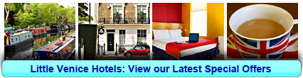 Little Venice Hotels: Book from only £17.50 per person!