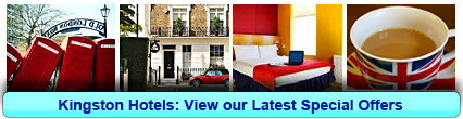 Kingston Hotels: Book from only £14.75 per person!