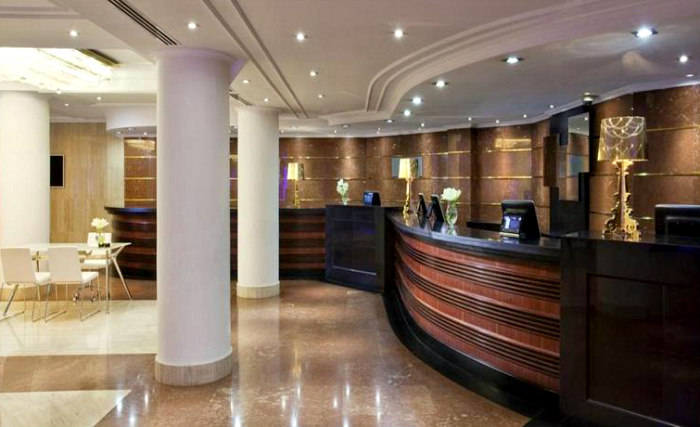 You will receive a friendly welcome from Reception at the hotel