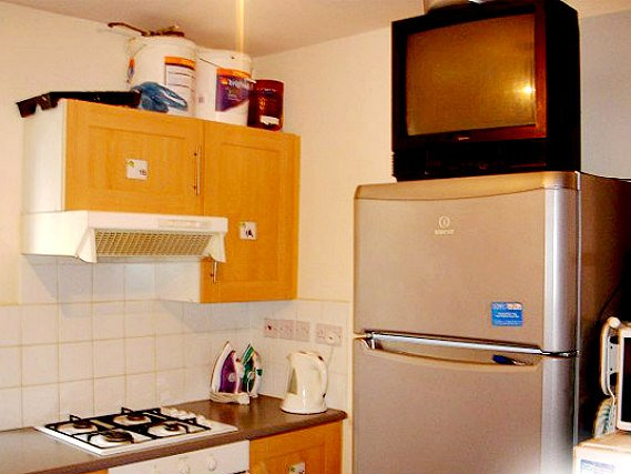 Save even more money by preparing your own food in the self-catering kitchen
